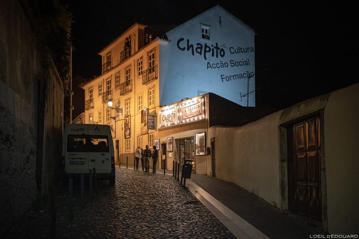 Chapito a Mesa, Lisbonne Portugal Lisboa street Alfama