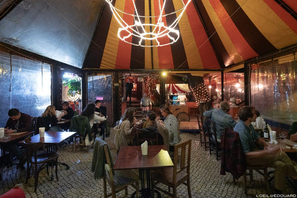 Bar Chapito a Mesa, Lisbonne Portugal Lisboa