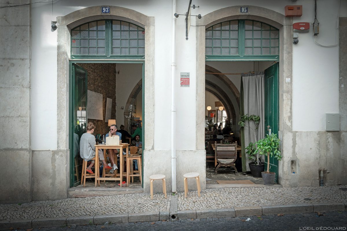 Bar restaurant Pois Café, Lisbonne Portugal Lisboa