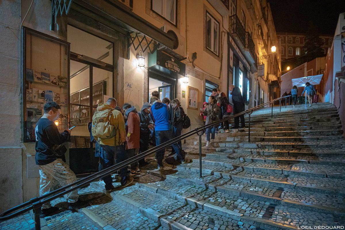 Restaurant El Rei dom Frango, Lisbonne Portugal Lisboa Calçada do Duque street