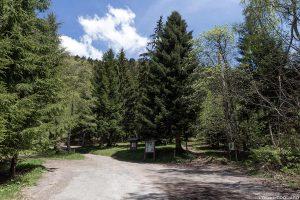 Départ Parking Les Teppes randonnée La Belle Étoile, Bauges Savoie Alpes - Paysage Montagne Randonnée Outdoor Mountain Landscape Hike Hiking