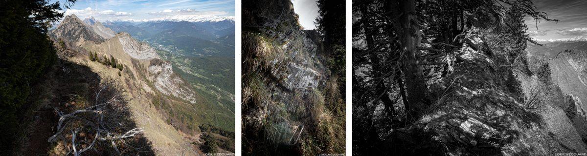 Crête de La Belle Étoile, Bauges Savoie Alpes - Paysage Montagne Randonnée Outdoor summit Mountain Landscape