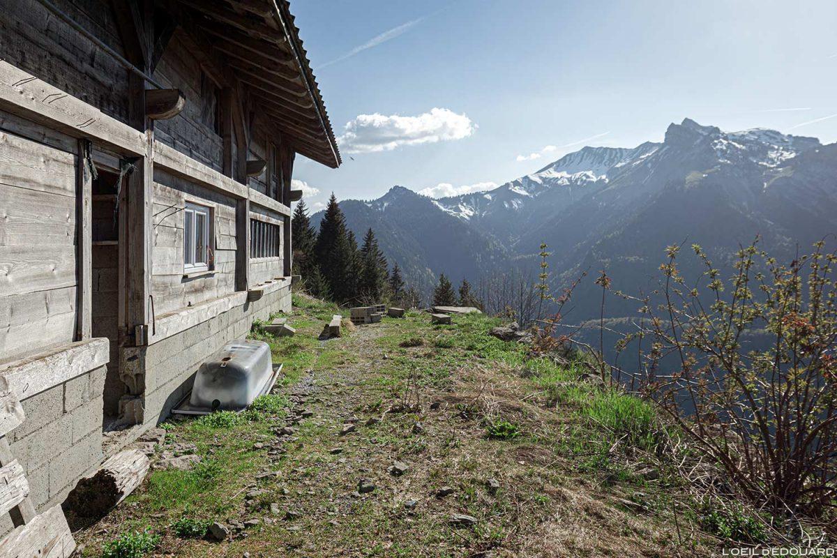 Chalet de Périllet La Forêt de Pontvert - La Belle Étoile Bauges Savoie Alpes - Paysage Montagne Randonnée Outdoor Mountain Landscape