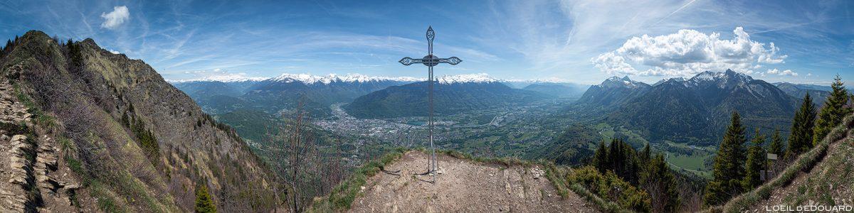 La Croix de Perillet - randonnée à La Belle Étoile Bauges Savoie Alpes - Paysage Montagne Randonnée Outdoor Mountain Landscape Hike Hiking