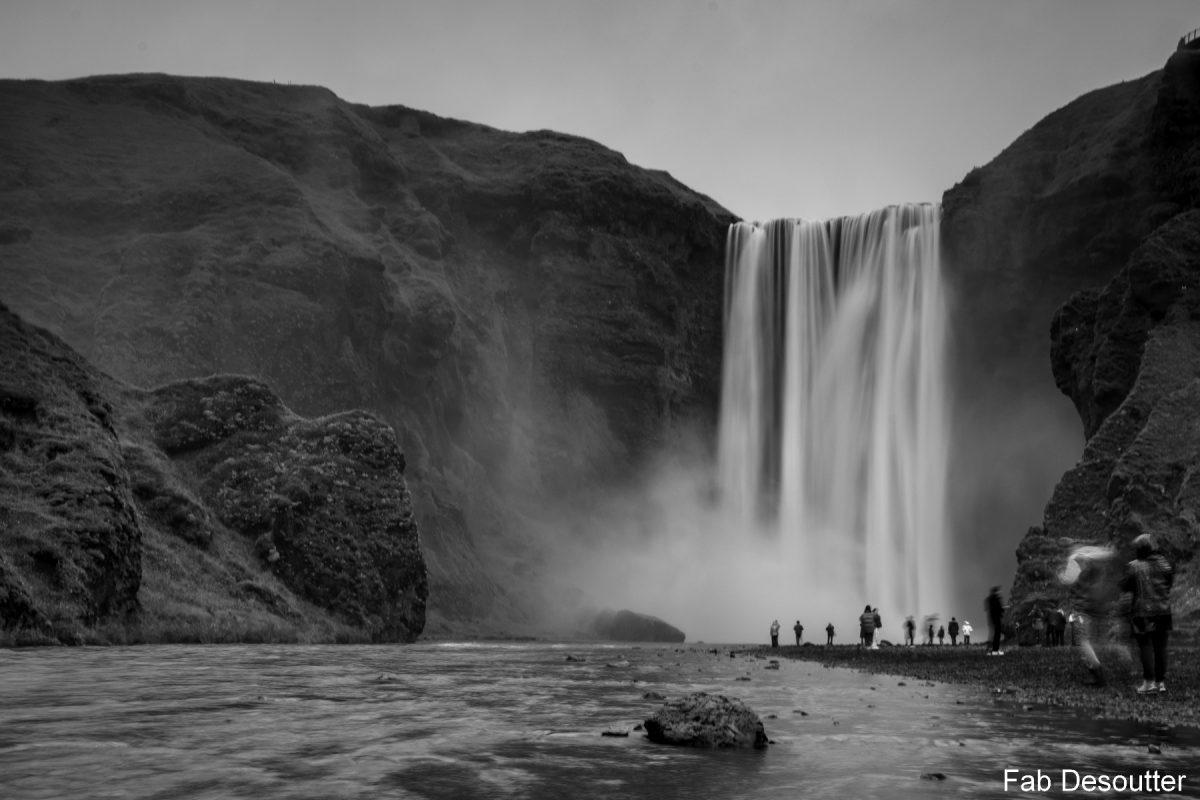 Skogafoss Islande Cascade Chute deau Iceland Waterfalls Islensk Outdoor Wild