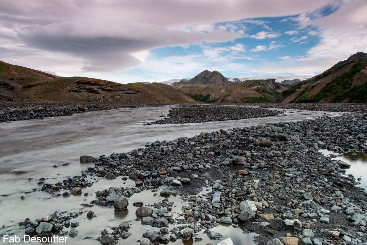 Thrönga rivière Trek Laugavegur Landmannalaugar Thorsmörk Islande Montagne Trekking Iceland river Landscape Mountain Islensk Outdoor Wild
