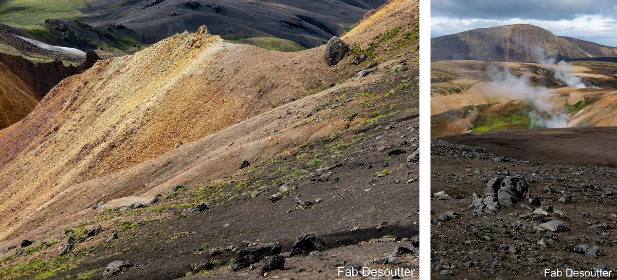 Paysage Trek Laugavegur Landmannalaugar Islande Montagne Trekking Iceland Landscape Islensk Outdoor Wild