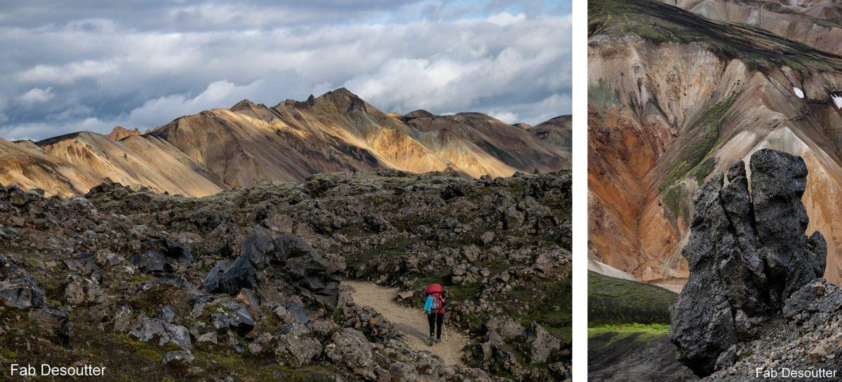 Paysage Trek Landmannalaugar Islande Montagne Trekking Iceland Landscape Islensk Outdoor Wild