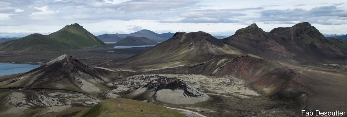 Paysage Trek Laugavegur Landmannalaugar Islande Montagne Trekking Iceland Landscape Mountain Islensk Outdoor Wild