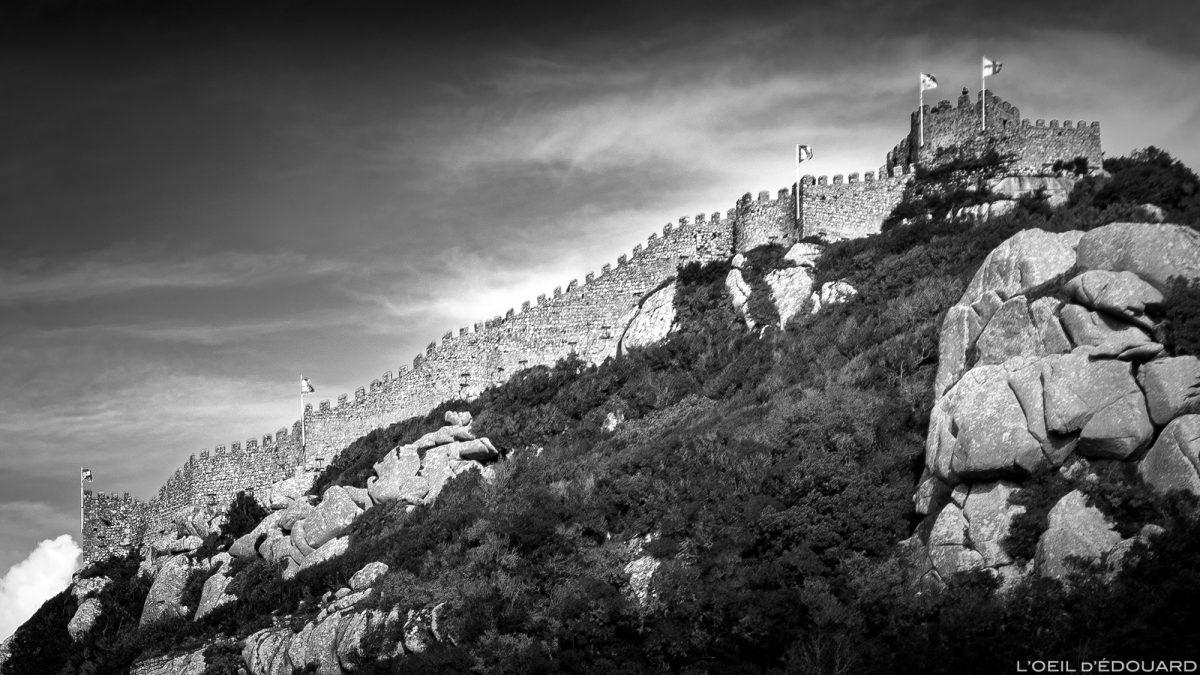 Château des Maures, Sintra Portugal - Castelo dos Mouros Sintra Lisboa castle © L'Oeil d'Édouard - Tous droits réservés