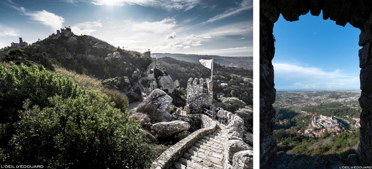 Château des Maures, Sintra Portugal - Castelo dos Mouros Sintra Lisboa castle