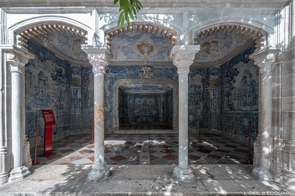 Grotte des bains, intérieur du Palais National de Sintra Portugal Lisbonne - Palacio Nacional Sintra Portugal Lisboa