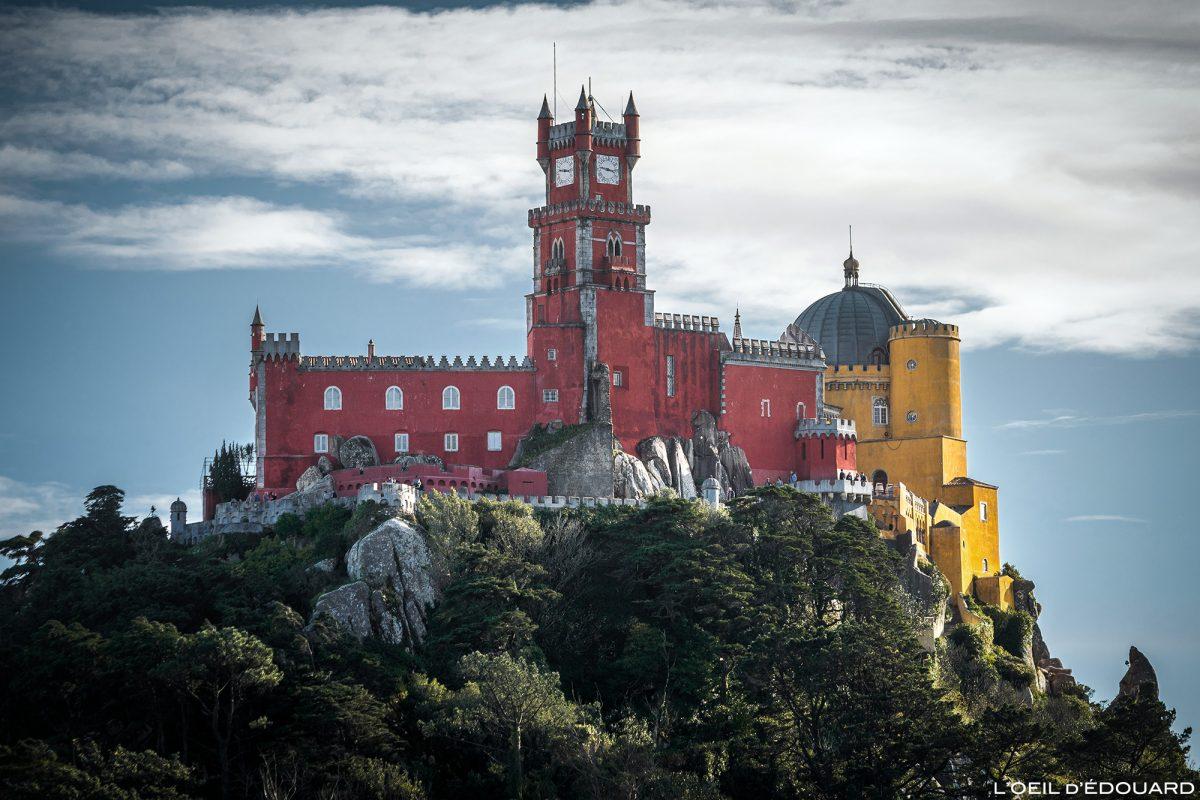 Palais de Pena, Sintra Portugal - Palacio Nacional de Pena Sintra Lisboa palace castle © L'Oeil d'Édouard - Tous droits réservés