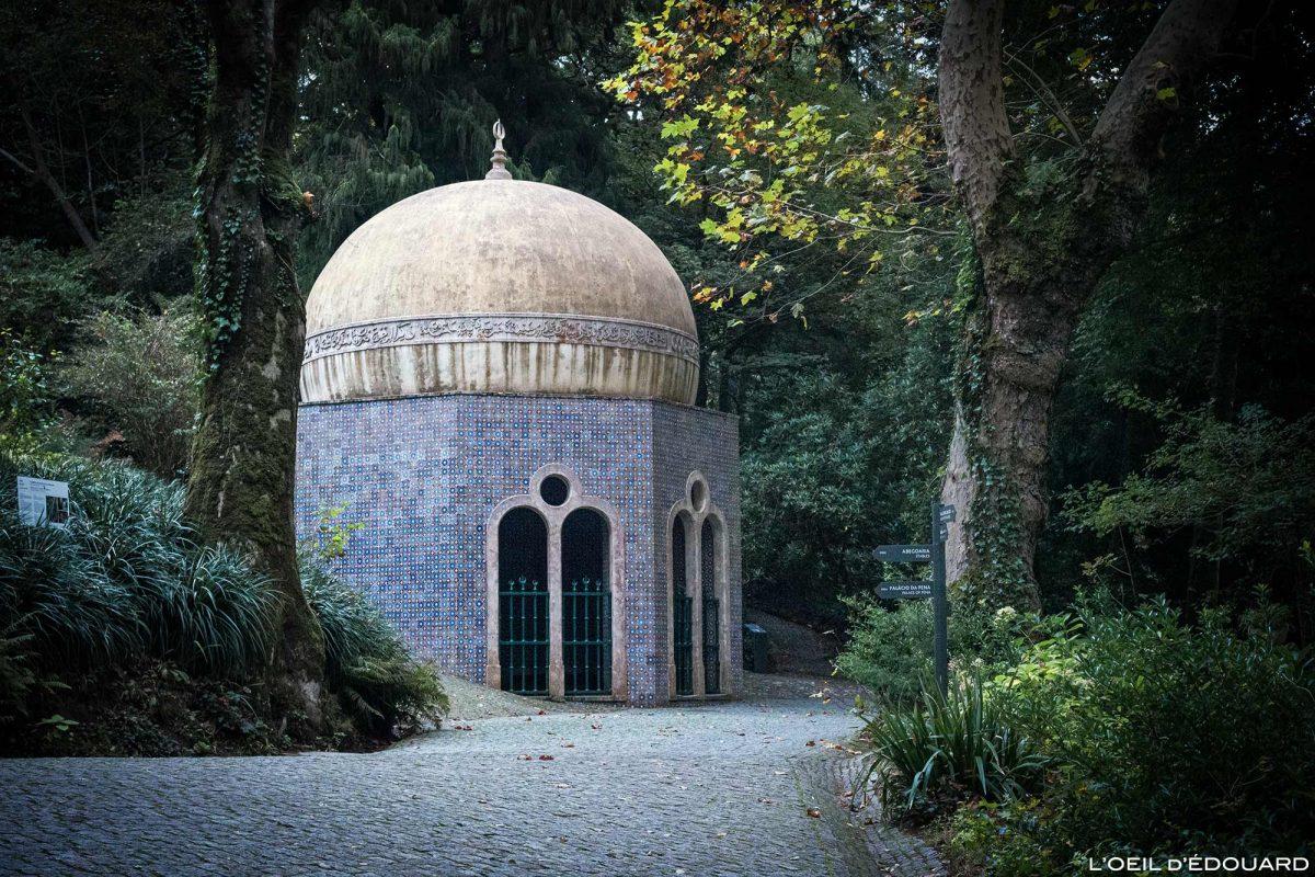 Fontaine aux petits oiseaux Parc du Palais de Pena, Sintra Portugal - Parque Palacio Nacional de Pena Sintra Lisboa botanic garden