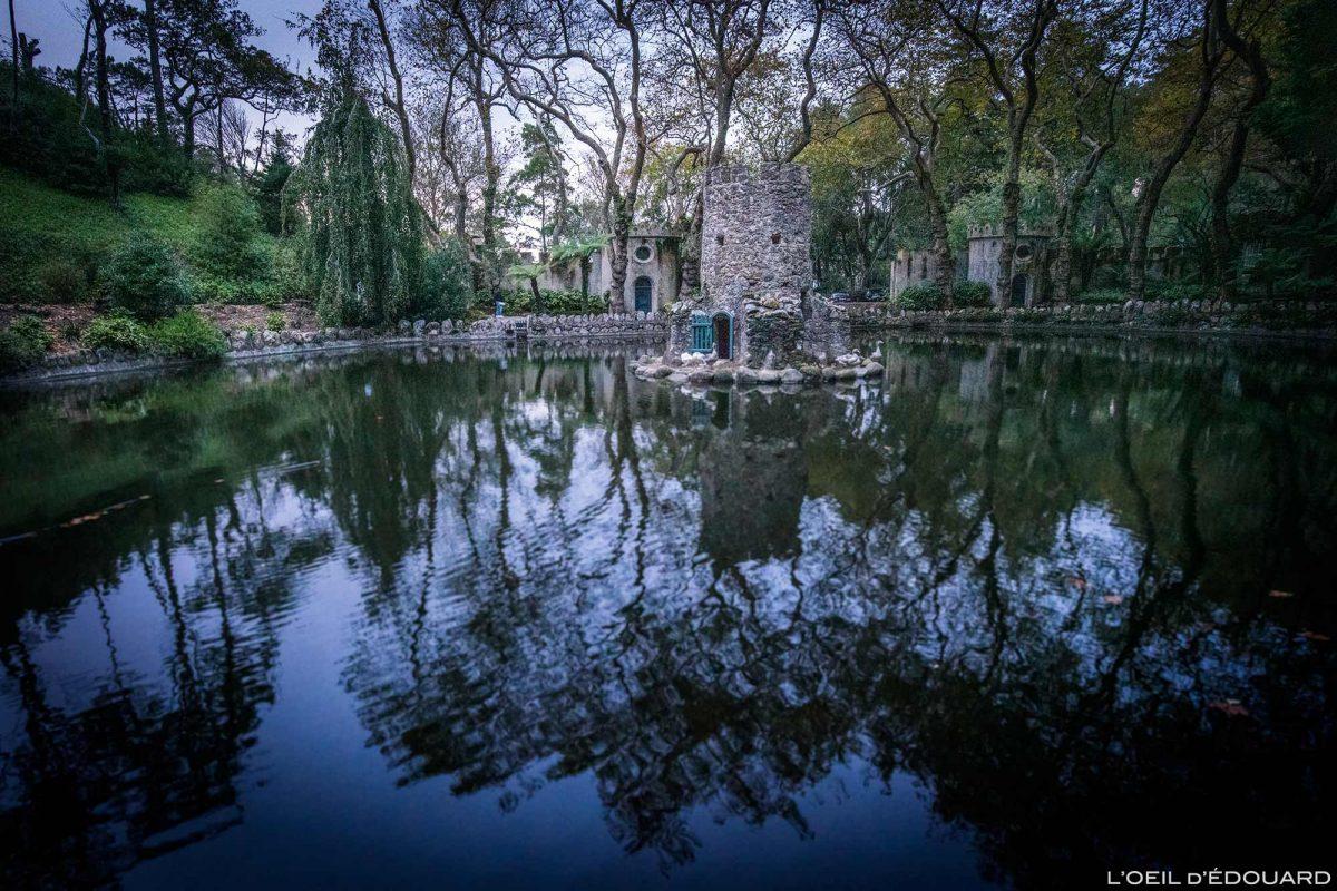 Vallée des Lacs Parc du Palais de Pena, Sintra Portugal - Parque Palacio Nacional de Pena Sintra Lisboa lake