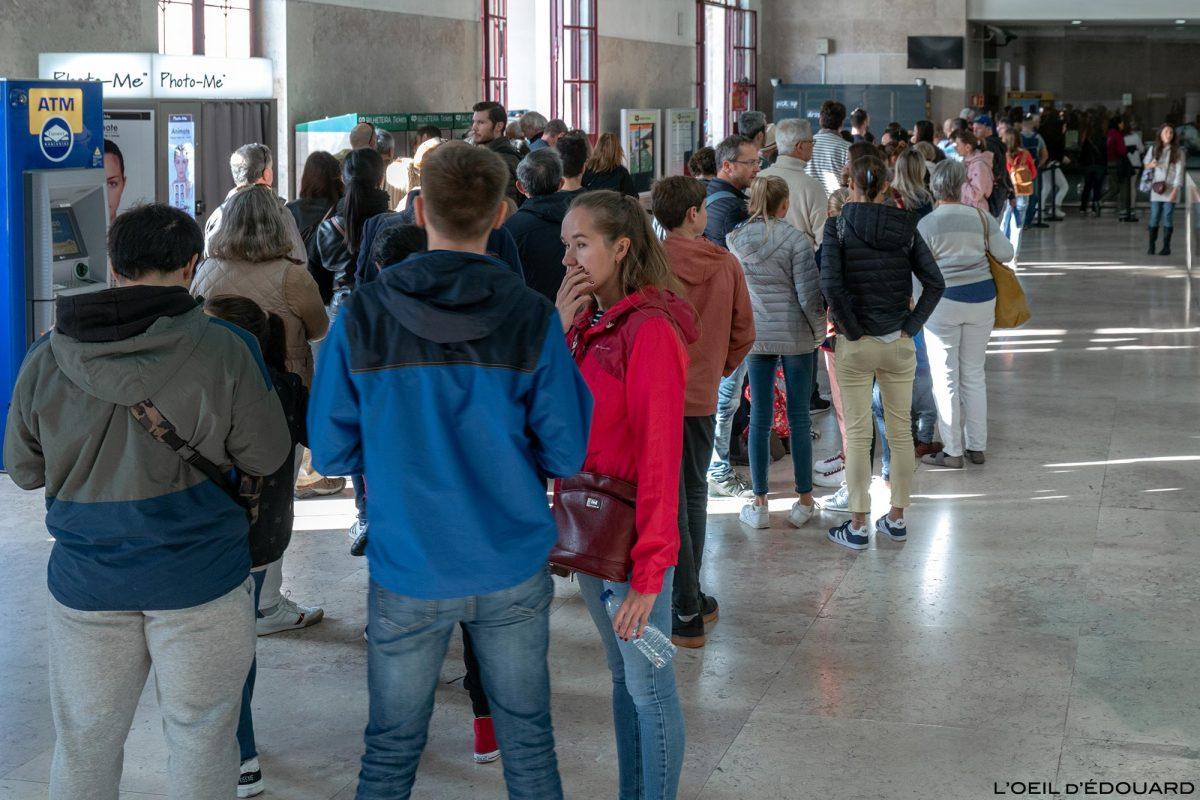 Gare du Rossio Lisbonne - Estação de Caminhos de Ferro do Rossio Lisboa Portugal