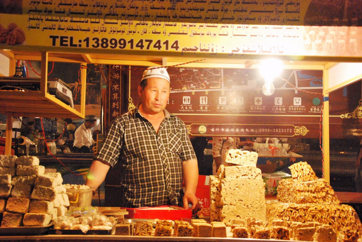 Vendeur stand de rue Chine Asie shop China Asia travel