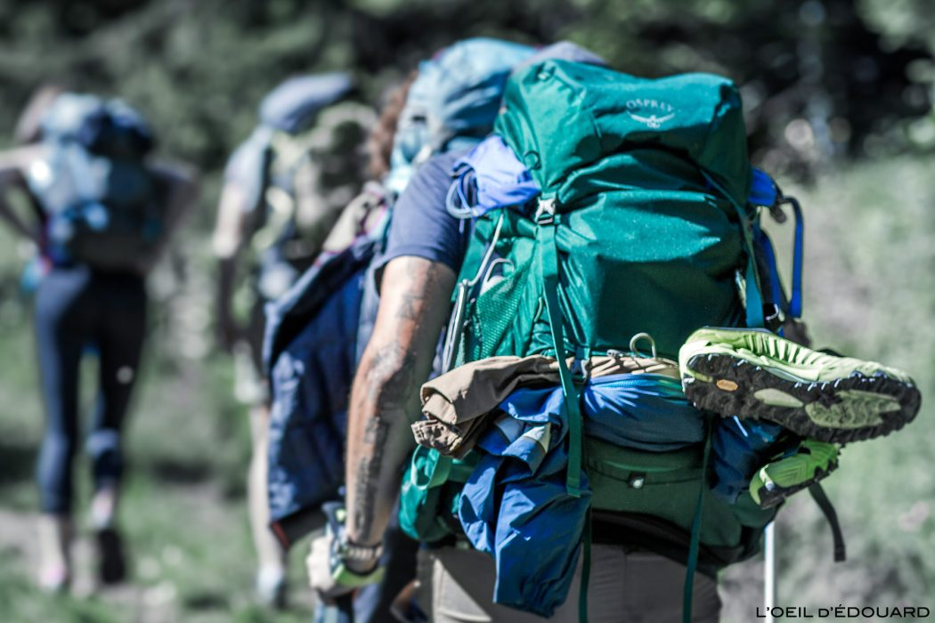 Test sac à dos randonnée Osprey Rook 50 backpack review mountain outdoor trekking