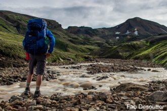 Test Sac à dos Osprey Farpoint Trek 75 backpack review Iceland Laugavegur Islande