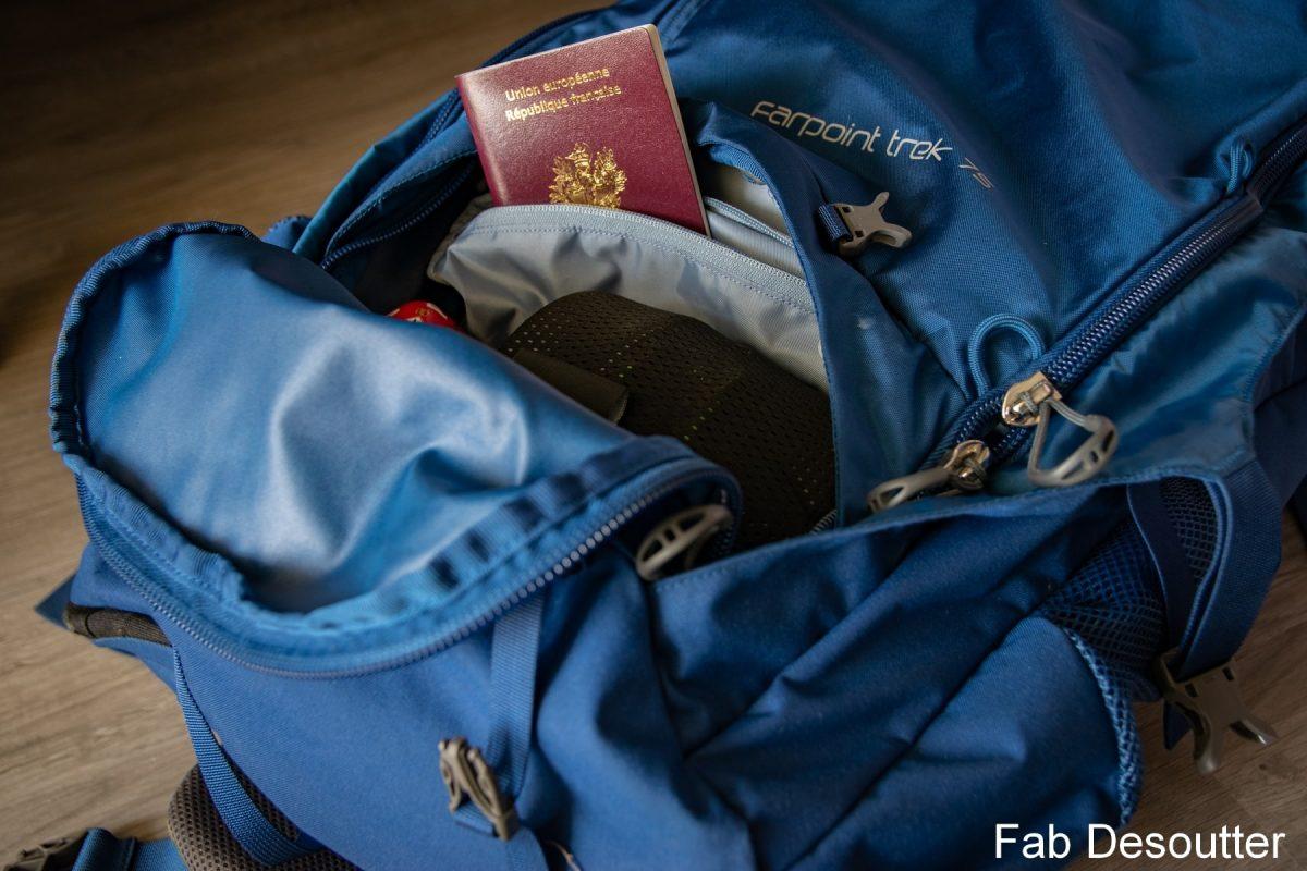 Test Sac à dos Osprey Farpoint Trek 75 backpack review