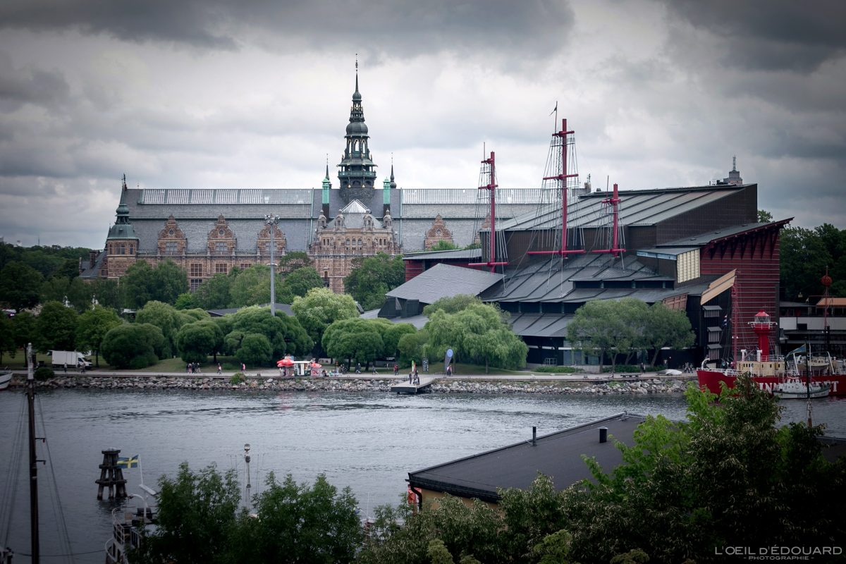 Musée Nordiskamuseet Vasamuseet Djurgarden Stockholm Suède Sweden Sverige museum architecture