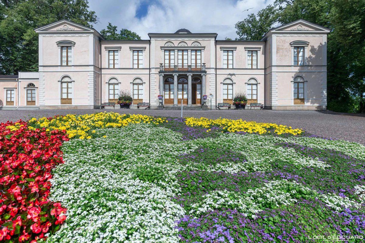 Rosendals slot Djurgarden Stockholm Suède Sweden Sverige house