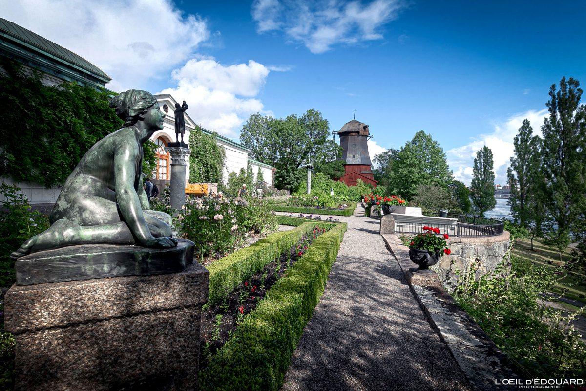 Jardin Waldemarsudde Djurgarden Stockholm Suède Sweden Sverige garden