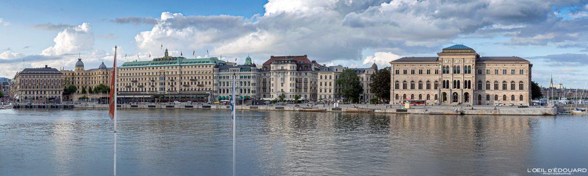 Nationalmuseet Norrmalm Stockholm Suède Sweden Sverige architecture