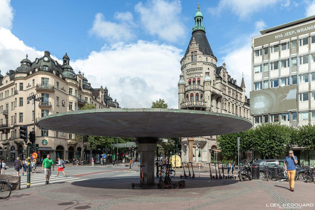 Place Stureplan Norrmalm Stockholm Suède Sweden Sverige