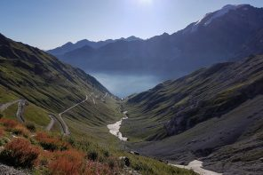 Paysage Montagne Alpes Vélo Cyclisme Col de Stelvio Italie Italian Alps Road Mountain Landscape Italy cyclism ciclismo Italia Passo del Stelvio