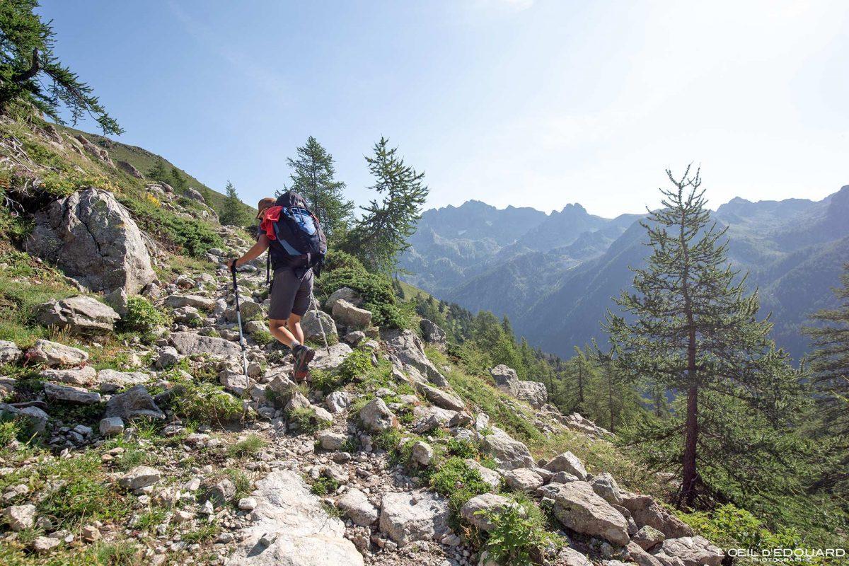 Sentier de randonnée Saint-Grat - Massif du Mercantour Alpes-Maritimes Provence-Alpes-Côte d'Azur / Paysage Montagne Trek Outdoor Landscape Mountain Hike Hike Trekking