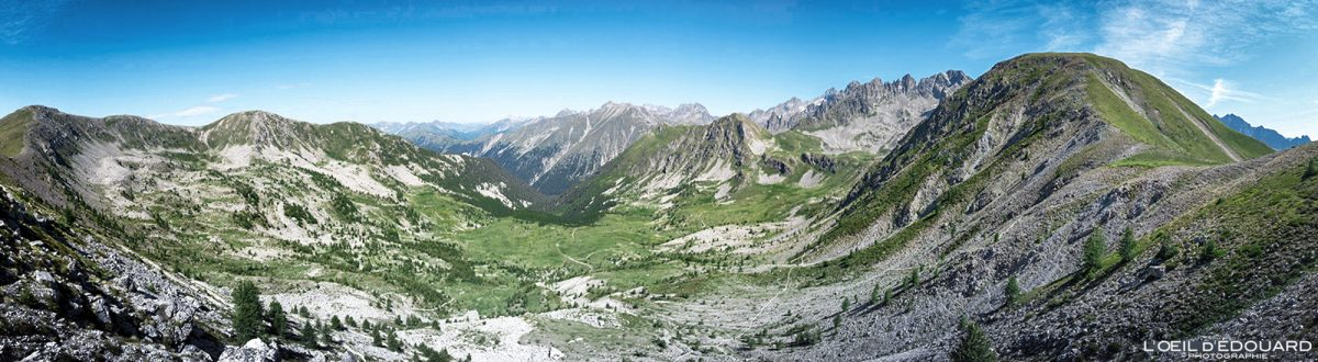 Randonnée Baisse de Prals - Massif du Mercantour Alpes-Maritimes Provence-Alpes-Côte d'Azur / Paysage Montagne Trek Outdoor Landscape Mountain Hike Hike Trekking