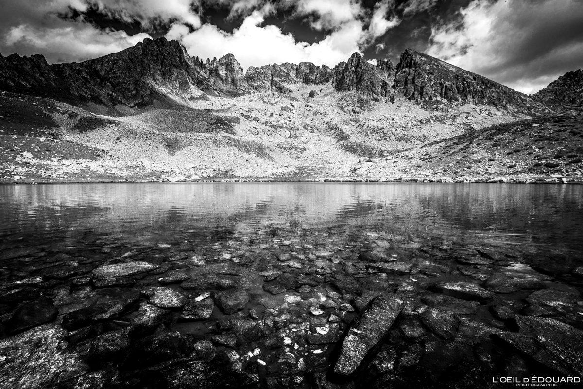 Lac de Prals - Massif du Mercantour Alpes-Maritimes Provence-Alpes-Côte d'Azur / Paysage Montagne Randonnée Trek Outdoor Landscape Mountain Hike Hike Trekking Lake