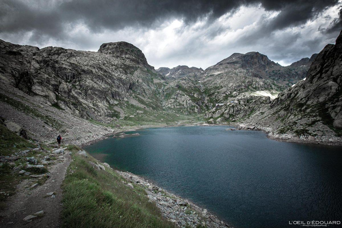 Randonnée Lac de la Fous Refuge de Nice - Massif du Mercantour Alpes-Maritimes Provence-Alpes-Côte d'Azur / Paysage Montagne Randonnée Trek Outdoor Landscape Mountain lake Hike Hike Trekking