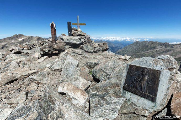 Sommet du Mont Clapier - Massif du Mercantour Alpes-Maritimes Provence-Alpes-Côte d'Azur / Paysage Montagne Randonnée Trek Outdoor View Landscape Mountain summit Hike Hike Trekking