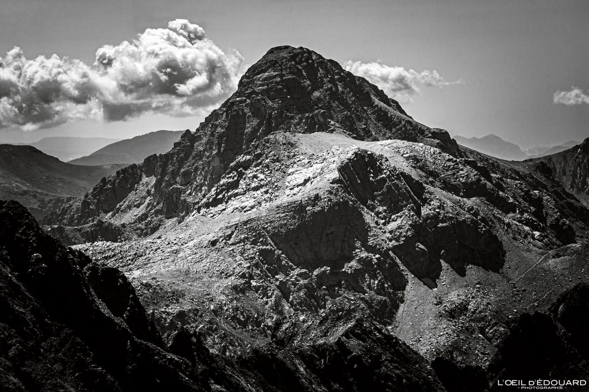 Randonnée Mont Bégo - Massif du Mercantour Alpes-Maritimes Provence-Alpes-Côte d'Azur / Paysage Montagne Trek Outdoor Landscape Mountain summit Hike Hike Trekking