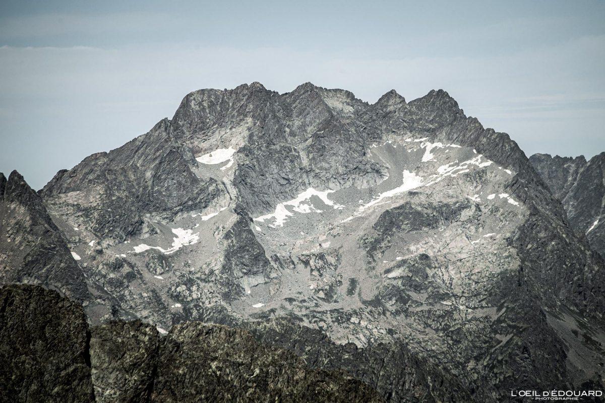 Randonnée Mont Argentera - Massif du Mercantour Alpes-Maritimes Provence-Alpes-Côte d'Azur / Paysage Montagne Trek Outdoor Landscape Mountain summit Hike Hike Trekking