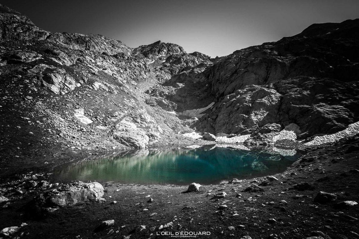 Randonnée Lac du Mont Clapier - Massif du Mercantour Alpes-Maritimes Provence-Alpes-Côte d'Azur / Paysage Montagne Trek Outdoor Landscape Mountain Hike Hike Trekking lake