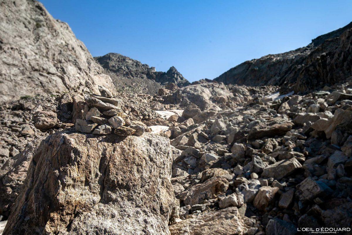 Randonnée Mont Clapier - Massif du Mercantour Alpes-Maritimes Provence-Alpes-Côte d'Azur / Paysage Montagne Trek Outdoor Landscape Mountain Hike Hike Trekking