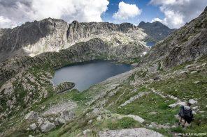 Randonnée Lac Vert - Massif du Mercantour Alpes-Maritimes Provence-Alpes-Côte d'Azur / Paysage Montagne Trek Outdoor Landscape Mountain lake Hike Hike Trekking