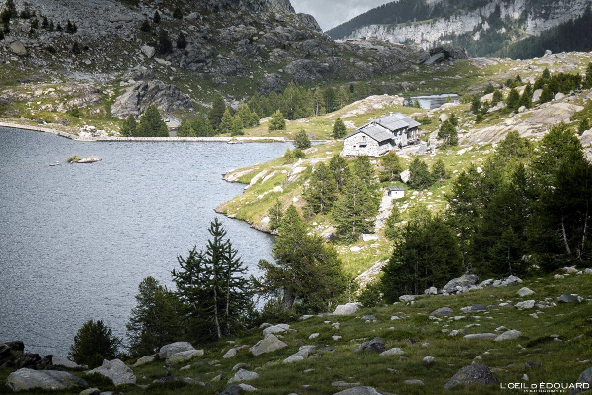 Refuge des Merveilles - Massif du Mercantour Alpes-Maritimes Provence-Alpes-Côte d'Azur / Paysage Montagne Randonnée Trek Outdoor Landscape Mountain lake Hike Hike Trekking