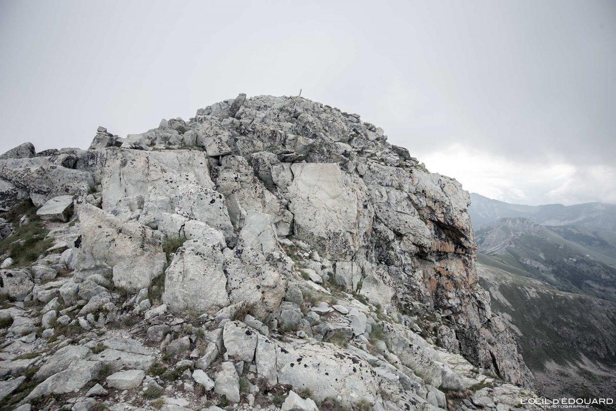 Randonnée Mont Bégo Vallée des Merveilles - Massif du Mercantour Alpes-Maritimes Provence-Alpes-Côte d'Azur / Paysage Montagne Trek Outdoor Landscape Mountain Hike Hike Trekking