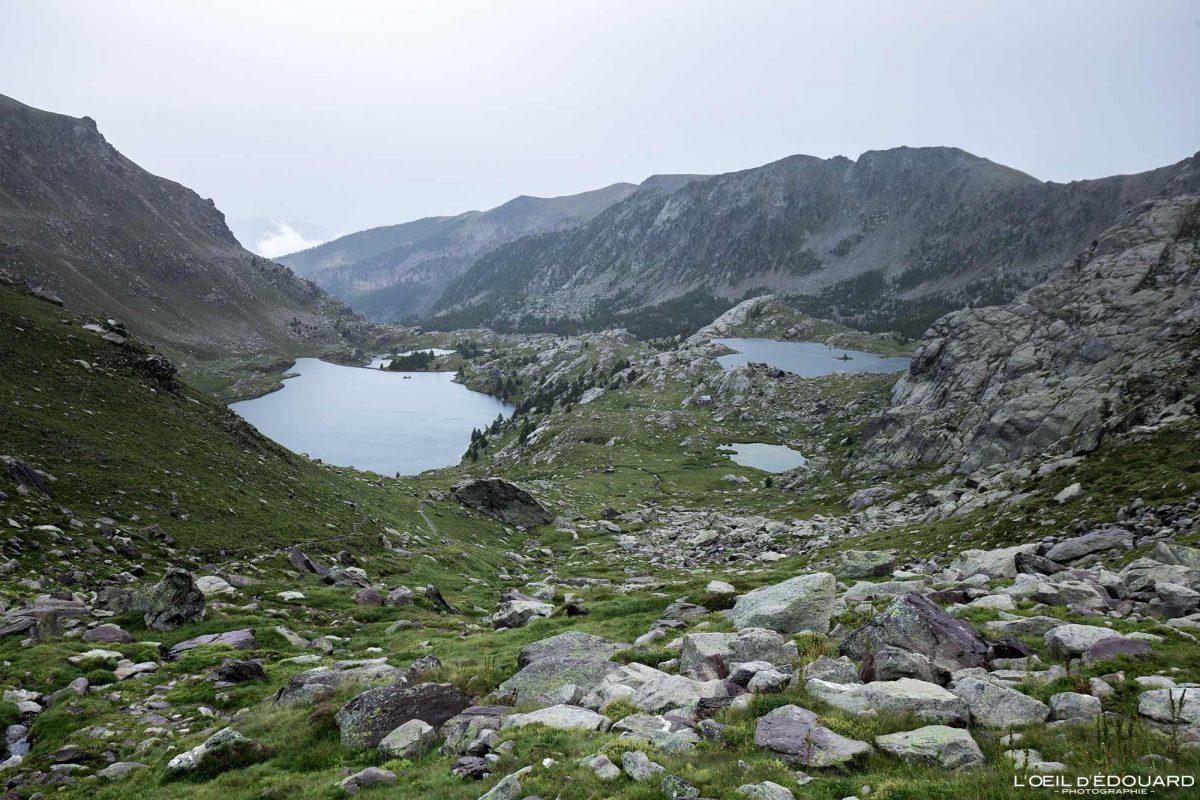Randonnée Lacs Vallée des Merveilles - Massif du Mercantour Alpes-Maritimes Provence-Alpes-Côte d'Azur / Paysage Montagne Trek Outdoor Landscape Mountain lake Hike Hike Trekking