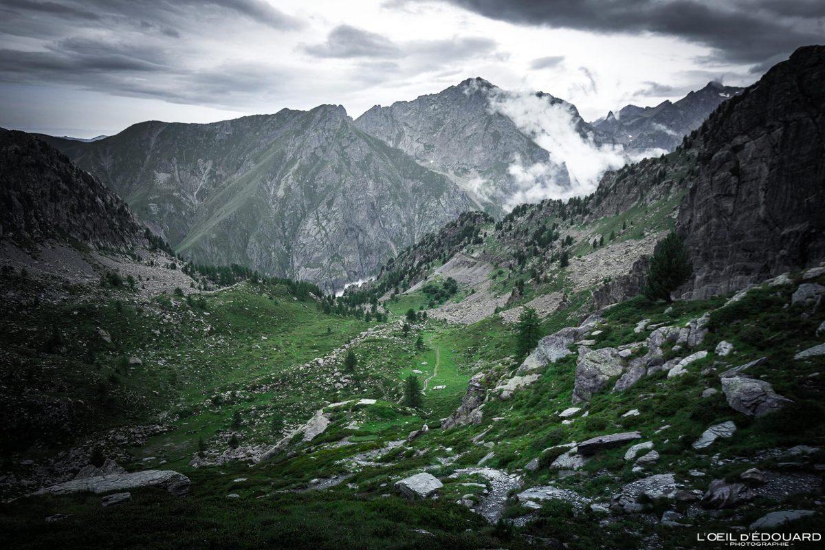 Sentier de randonnée Vallon d'Enpuonrame - Vallée des Merveilles - Massif du Mercantour Alpes-Maritimes Provence-Alpes-Côte d'Azur / Paysage Montagne Trek Outdoor Landscape Mountain Hike Hike Trekking