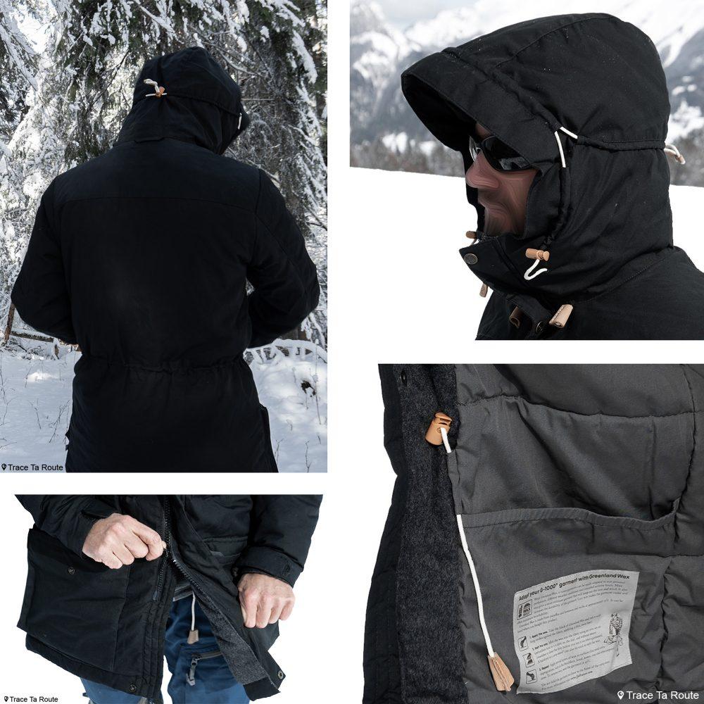 Test Veste Fjällräven Singi Wool Padded Parka Jacket Review Outdoor Winter