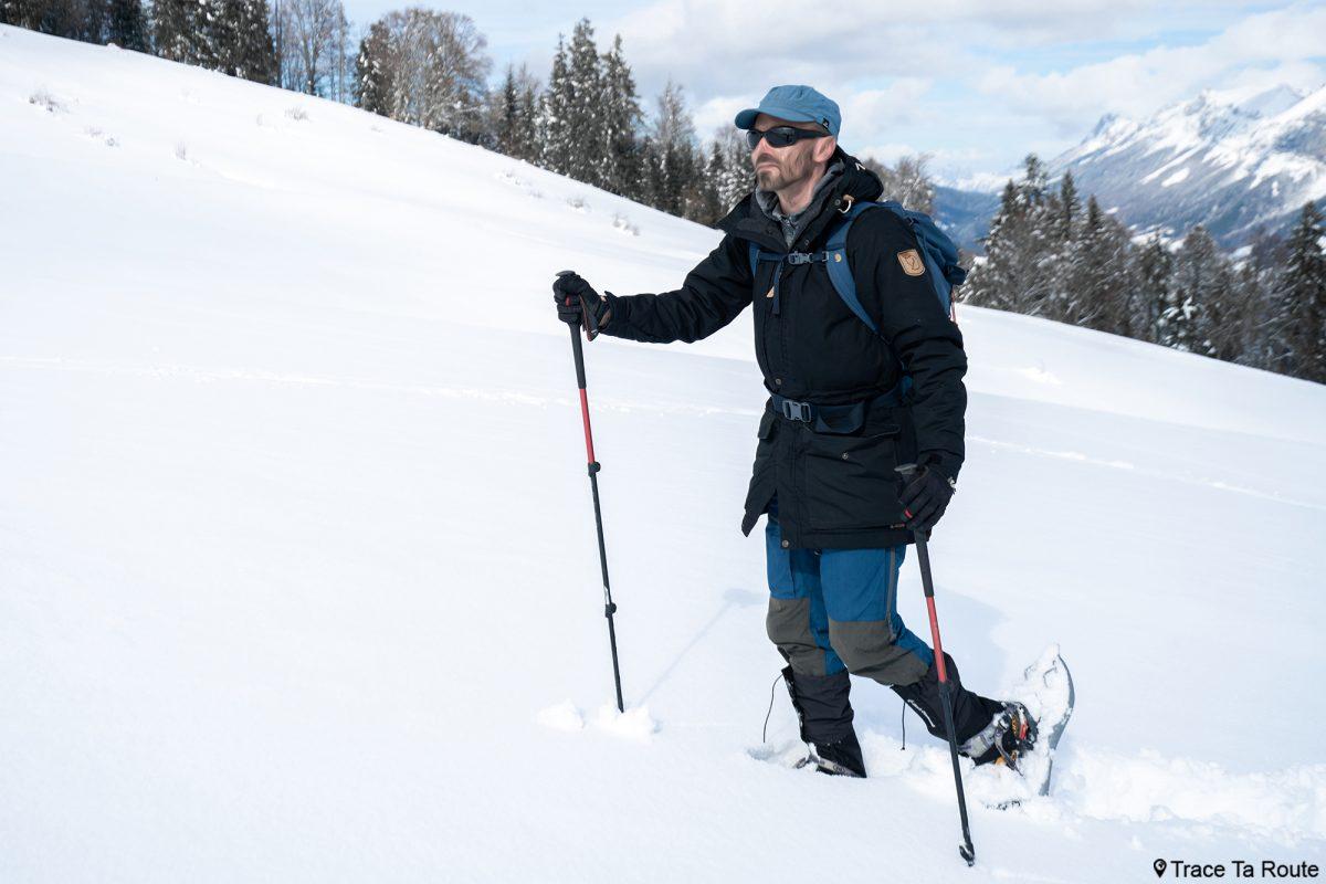 Test Veste Fjällräven Singi Wool Padded Parka Jacket Review Outdoor Winter snow