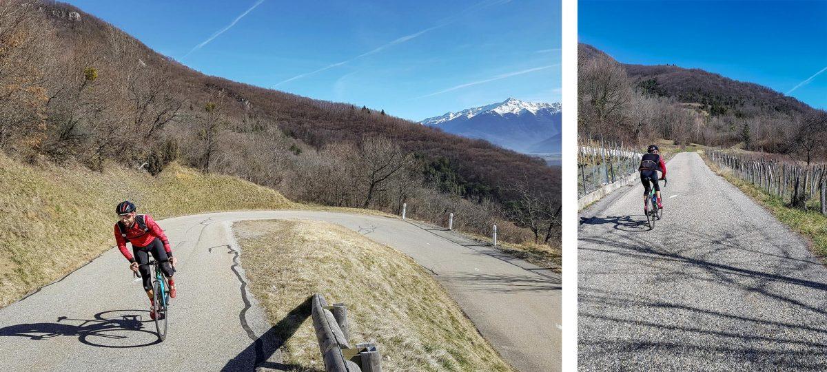 Cyclisme vélo - Col de Marocaz Massif des Bauges Outdoor road bike