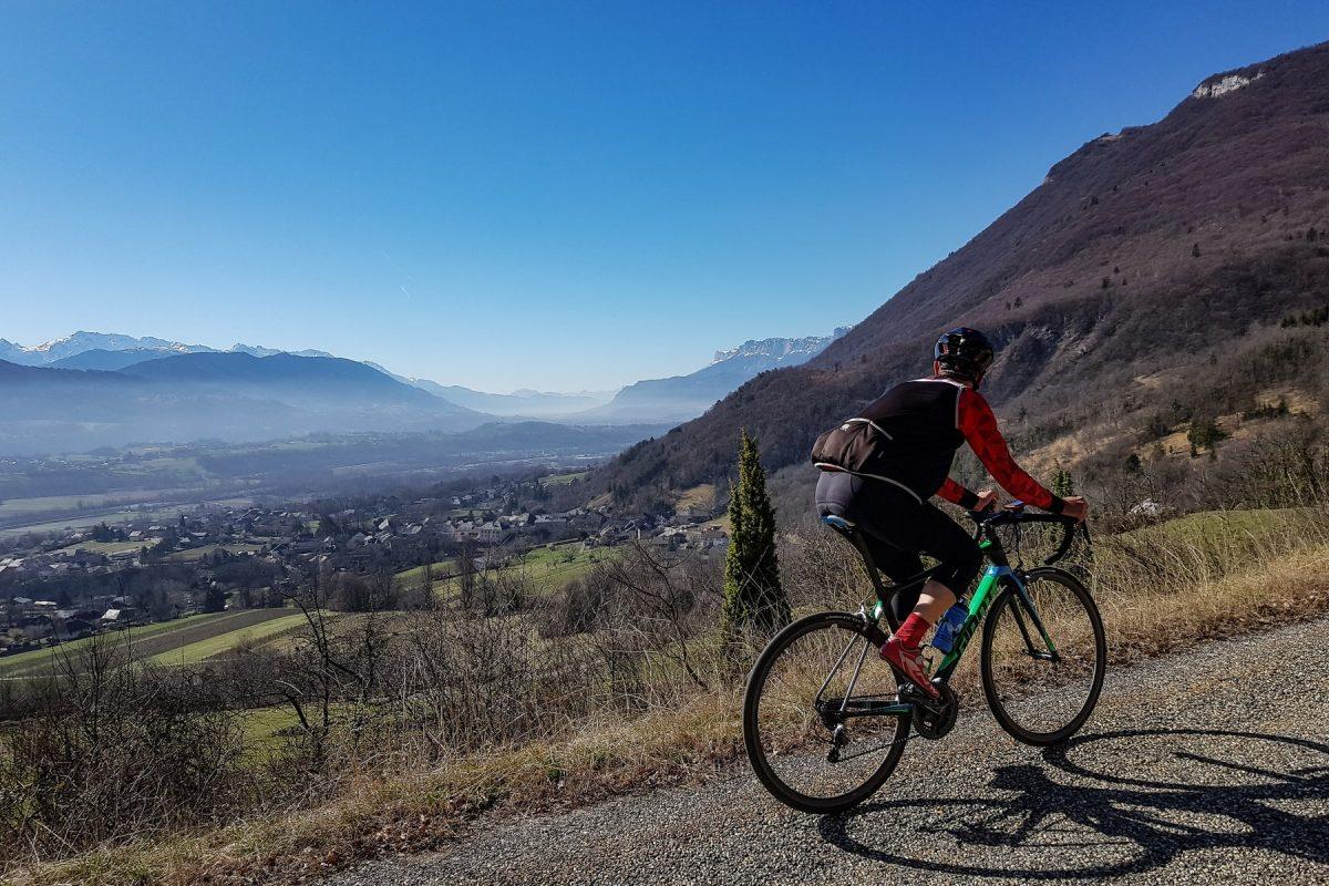 Cyclisme Col de Marocaz en vélo - Massif des Bauges Outdoor road bike landscape