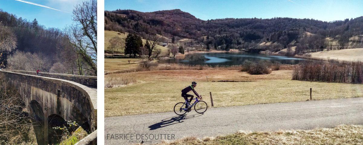 Cyclisme Col de Marocaz en vélo - Lac de la Thuile Massif des Bauges Outdoor road bike mountain landscape