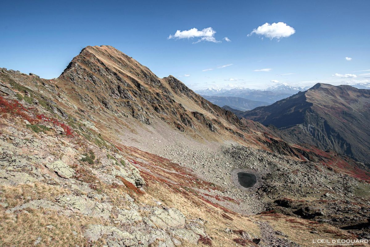 Randonnée Le Grand Arc Sommet Savoie Alpes France Montagne Paysage Automne Outdoor French Alps Autumn Landscape Mountain summit Hike Hiking